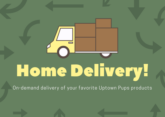 Home Delivery Now Available